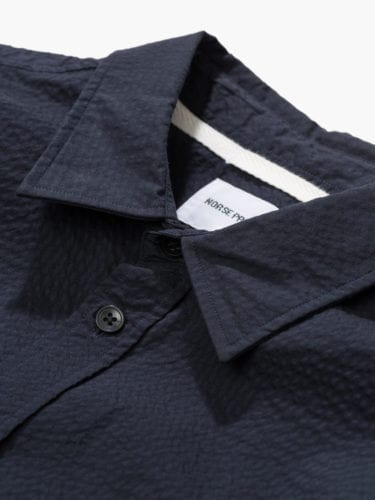 Mirlett boutique | norse Projects Barcelona | camisa OSVALD seersucker